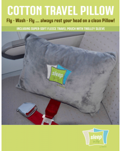 COTTON TRAVEL PILLOW